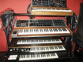 Hammond, Dx7, Minimoog, Memorymoog Plus